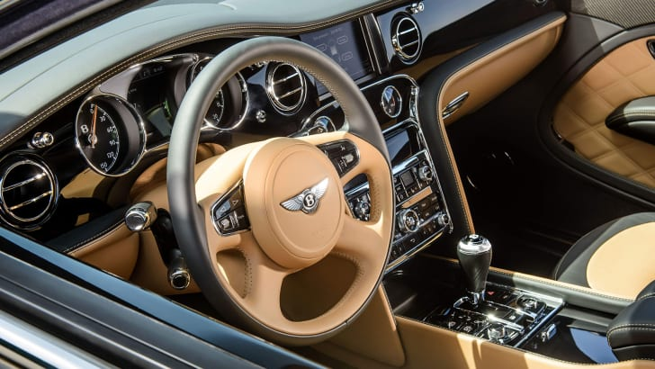 Bentley Mulsanne Speed - interior