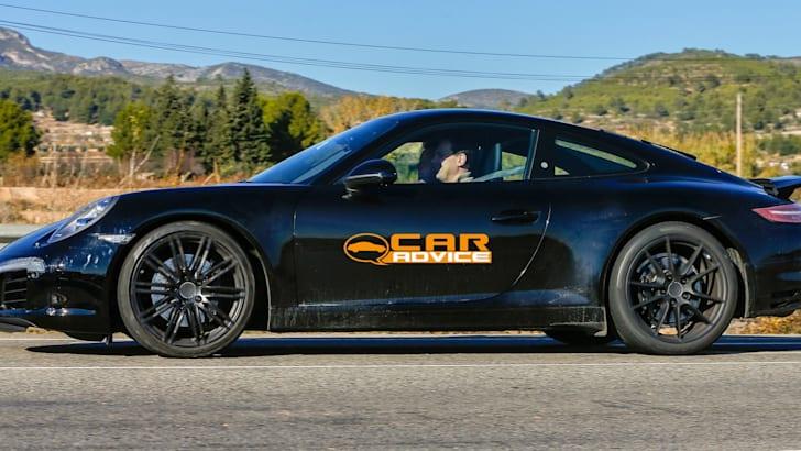 Porsche 911 Facelift:GTS Spied - 3