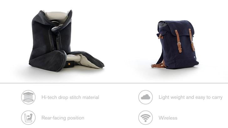 Volvo inflatable Child Seat 2