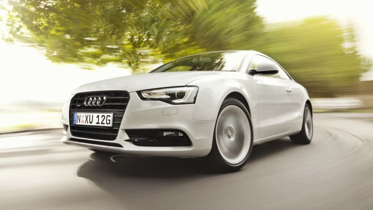 Audi A5 rig shot white