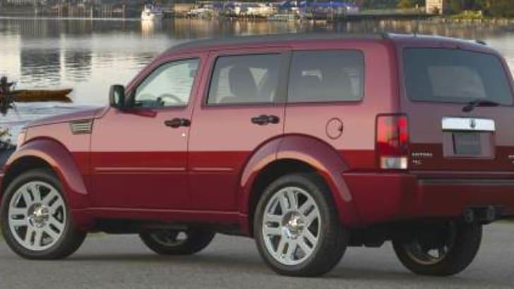 2007 Dodge Nitro Rear