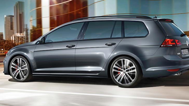 Der neue Volkswagen Golf GTD Variant