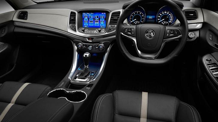 Holden VF Commodore Calais interior