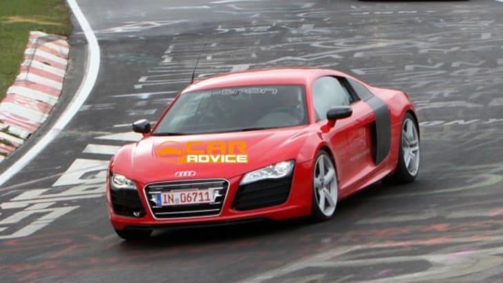 Audi R8 e-tron Testing