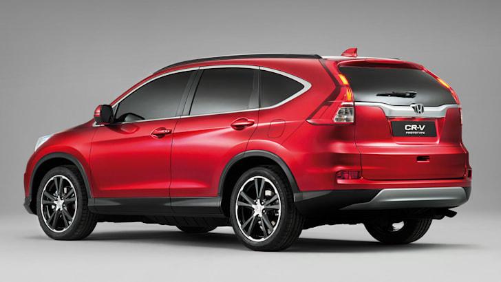 Euro Honda CR-V Prototype facelift - rear