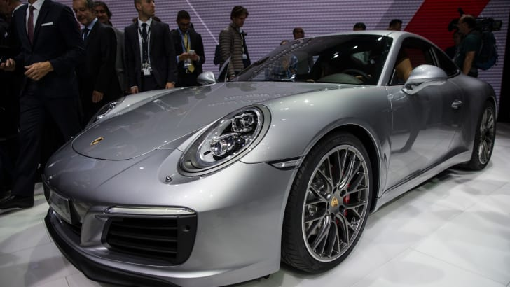 Porsche Carrera S Turbo -2015 IAA September 17 - 27, 2015, Frankfurt, Germany