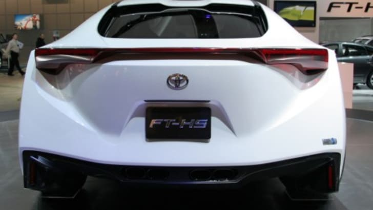 Toyota Supra Rear