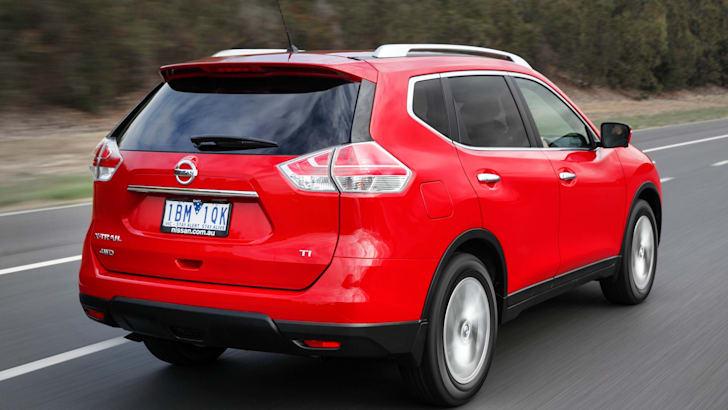 Nissan X-Trail rear