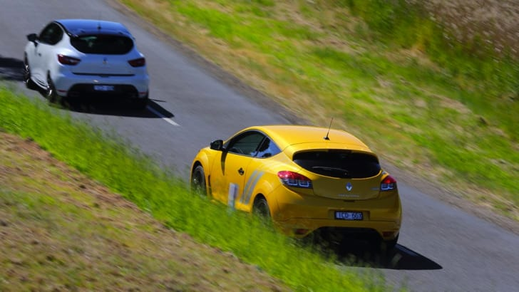Renault Clio RS and Megane RS - 3
