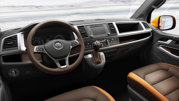 Volkswagen Tristar concept - interior