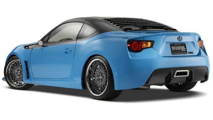 Scion FR-S T1 - rear