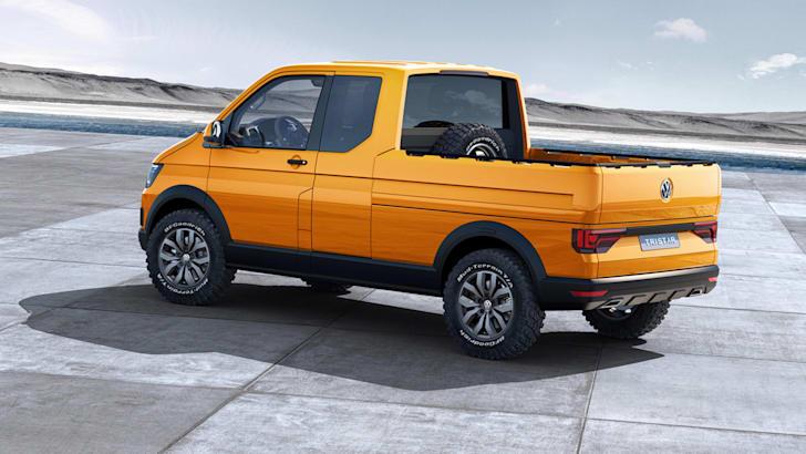 Volkswagen Tristar concept - rear