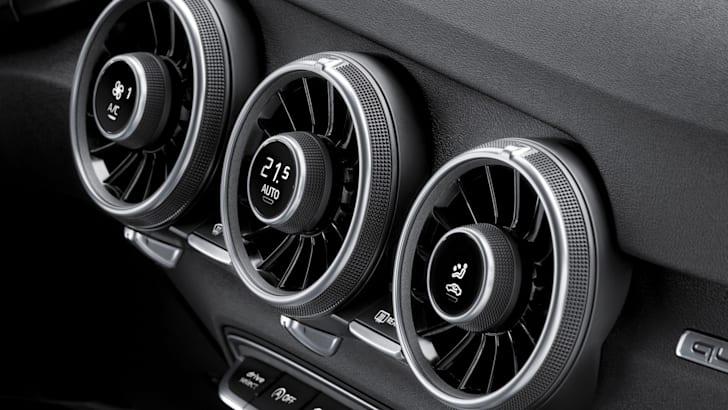Audi TT air vents