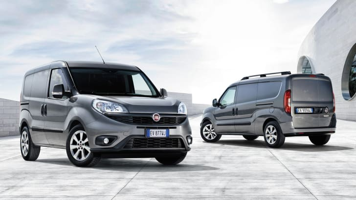 Fiat Doblo facelift - front and rear
