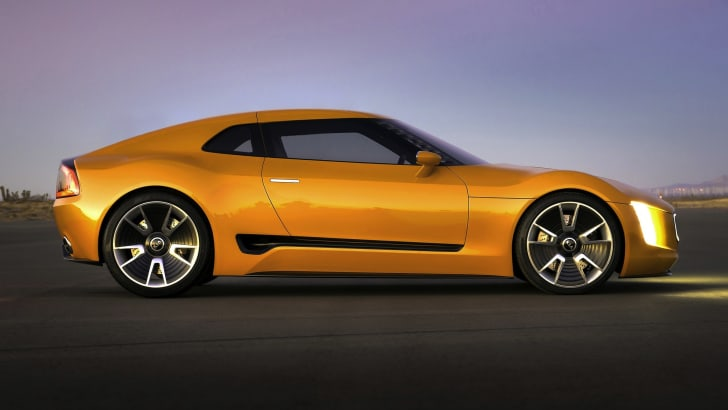 Kia GT4 Stinger profile