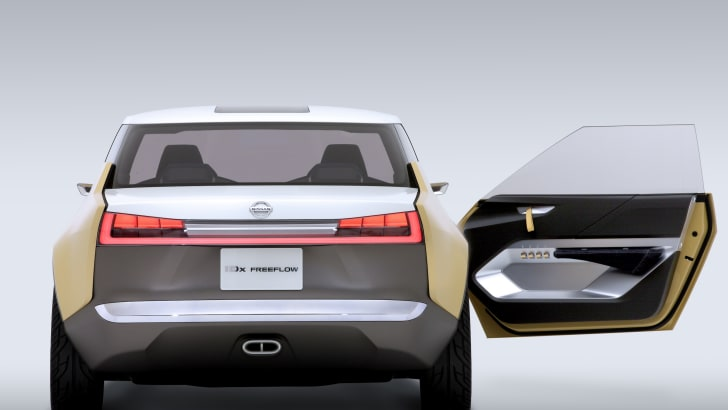 Nissan IDx Freeflow rear