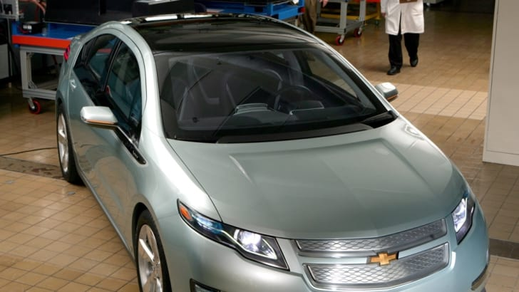 Chevrolet Volt in Testing
