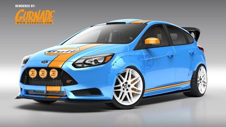 Ford Focus SEMA concepts 2