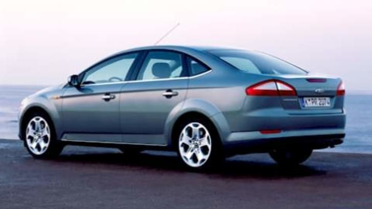 The New Ford Mondeo Rear