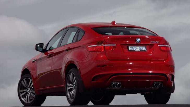 BMW X6 M rear still