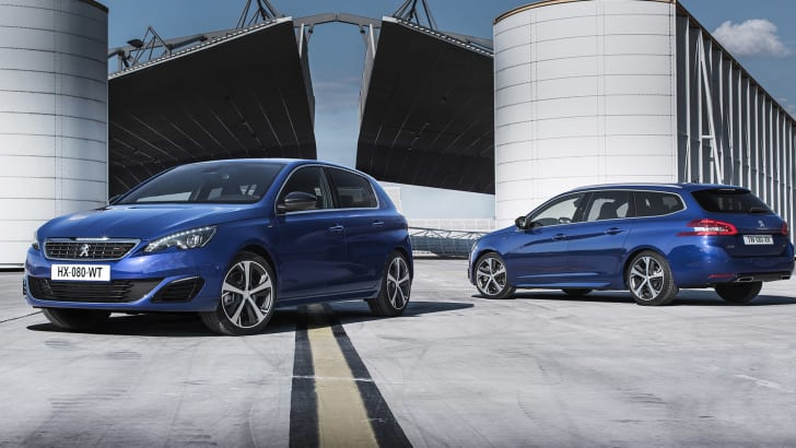 Peugeot 308 GT - wagon and hatch