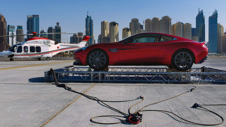 Aston Martin Vanquish drops into Dubai - 1