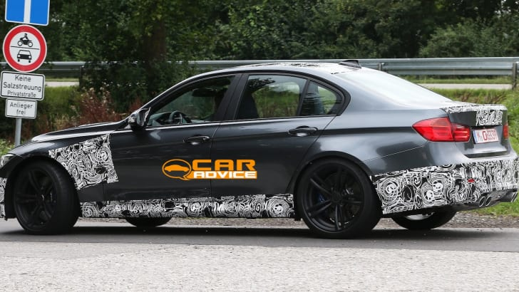 BMW M3 Spied - 5