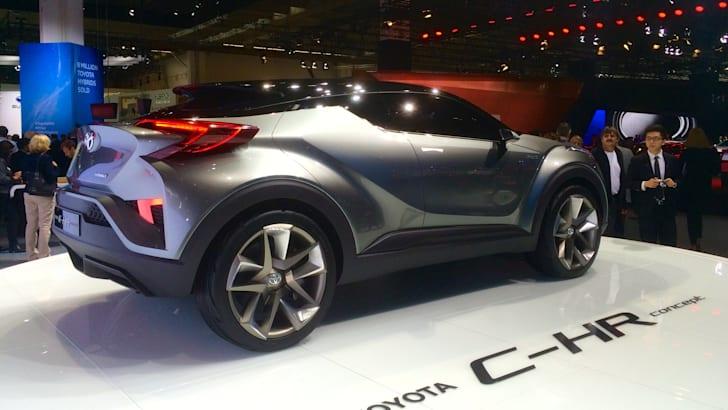 Toyota C-HR concept Frankfurt motor show_2