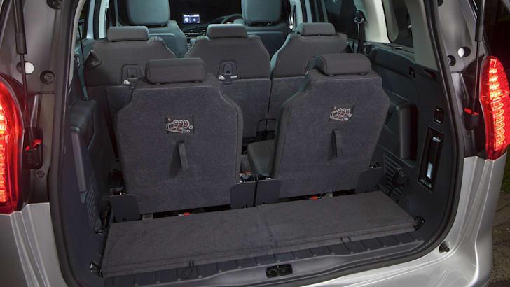 Peugeot 5008 third row seats