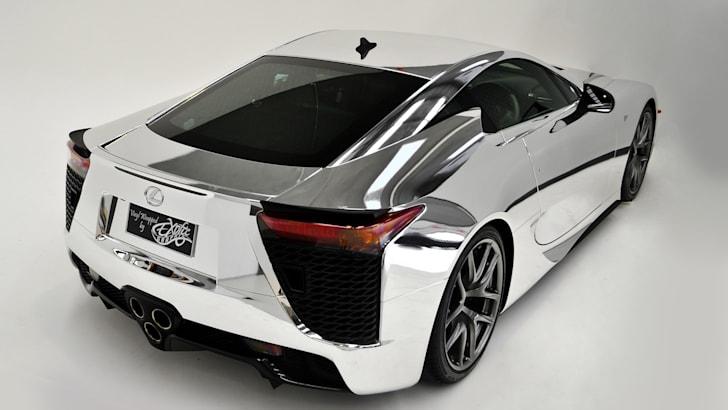 Lexus LFA - Chrome