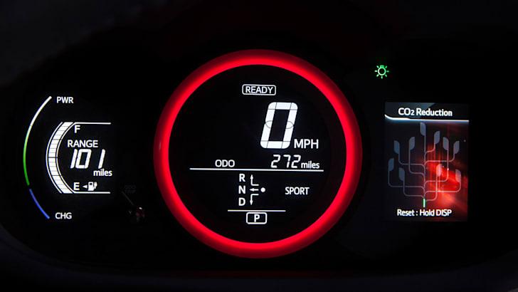 Toyota RAV4 EV instrument pack