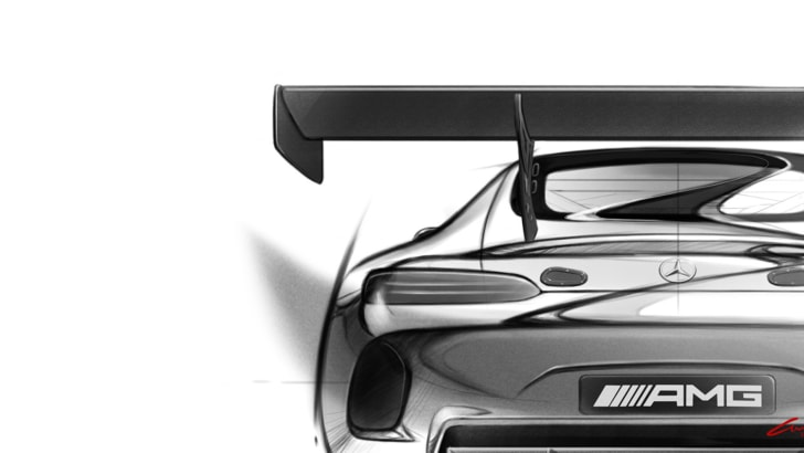 mercedes-amg-gt3-sketch-rear