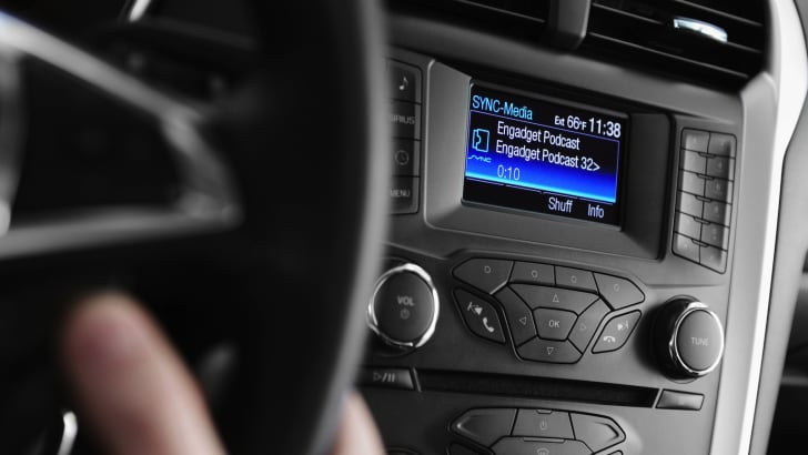 Drivers with Ford SYNC® AppLink™