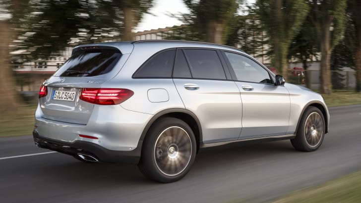 Mercedes-Benz Fahrveranstaltung GLC; Elsass 2015The new GLC Press Drive, Alsace 2015