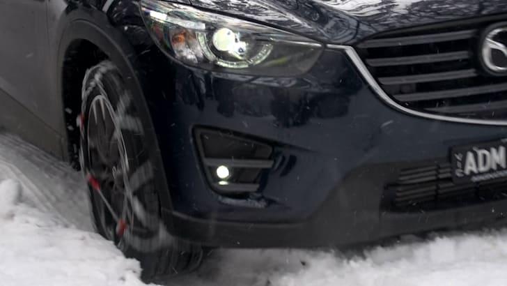 Mazda CX5 snow 29