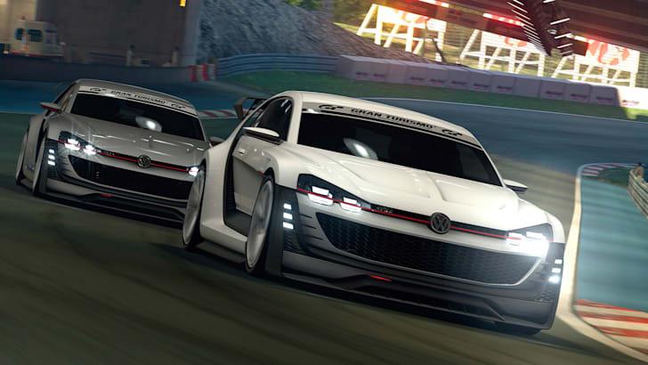 Der neue GTI Supersport Vision Gran Turismo