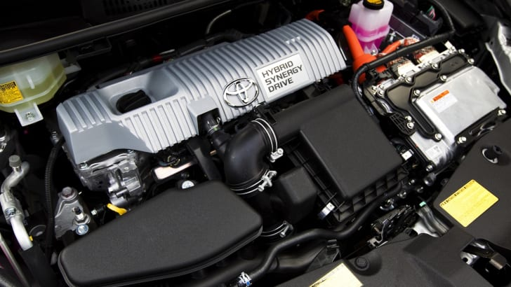 Toyota Prius - Engine Bay