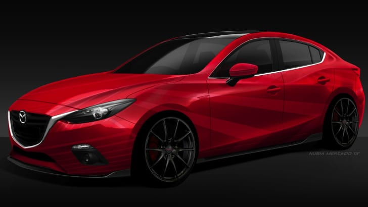 Mazda 3 SEMA - 1