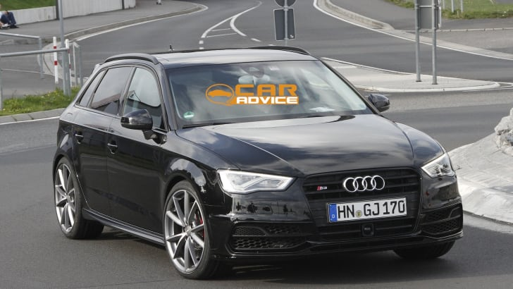 Audi RS3 Spied - 2