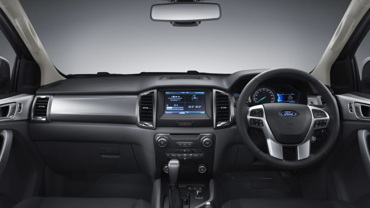 New Ford Ranger 4_interior