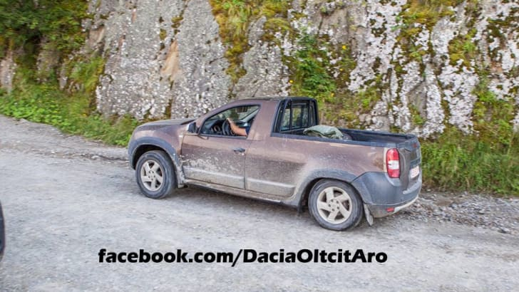 Dacia Duster pick-up 3