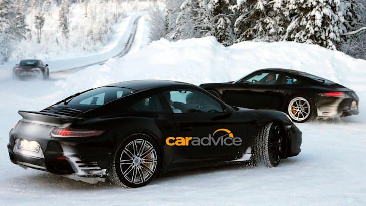 Porsche 911 Turbo Spied - 9