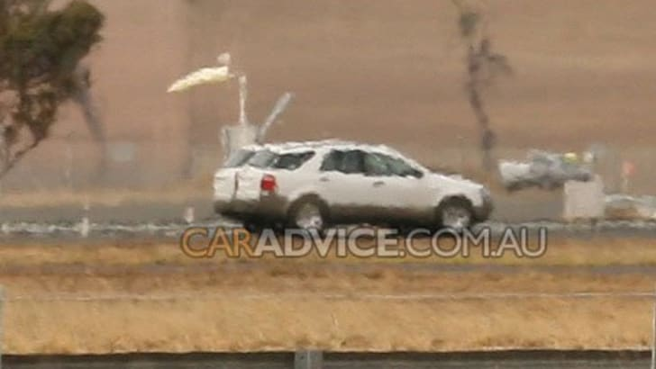 Ford Territory Diesel Spy Photographs