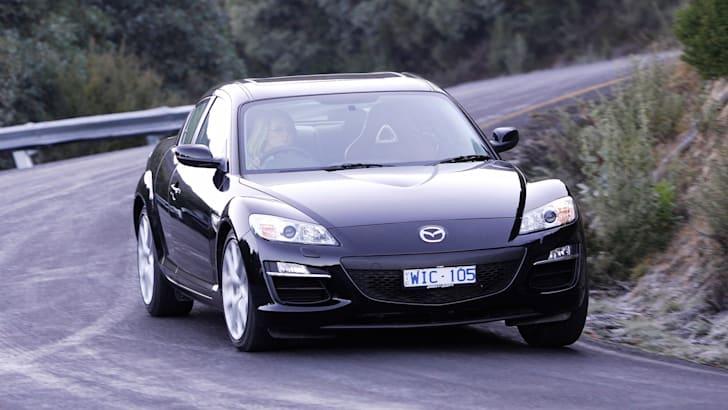 Mazda RX-8 cornering
