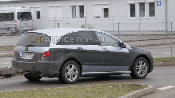 2009 Mercedes-Benz R-Class facelift spied