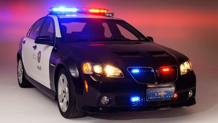 Holden-based LAPD police cruiser gains momentum