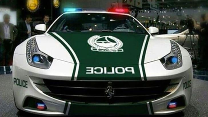 Ferrari FF Dubai Police - 3