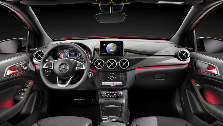 Mercedes-Benz B-Class facelift - interior