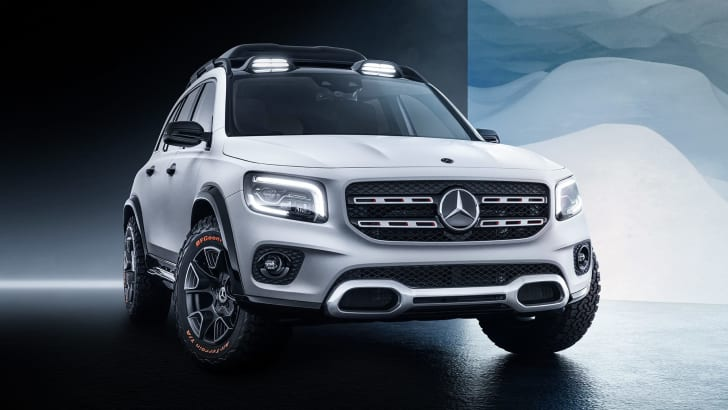 2020 Mercedes – Benz GLB SUV Release Date And Plug-In Hybrid Specs >> 2020 Mercedes Benz Glb Teased Caradvice