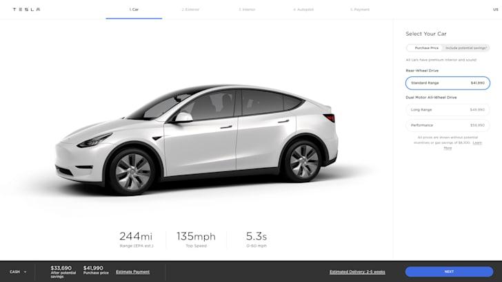 2021 Tesla Model Y Standard Range присоединяется к американской линейке, представлен семиместный вариант | CarAdvice